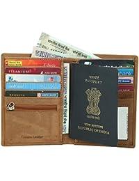 leather Travel Buisness Card Holder Premium Quality Travel Passport Holder