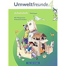 Umweltfreunde - Thüringen: 4. Schuljahr - Arbeitsheft