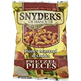Snyder's of Hanover Honey Mustard und Onion, 5er Pack (5 x 125 g)