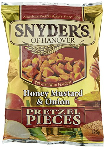 Snyder's Pretzel Pieces Honey Mustard & Onion (5 x 125 g)