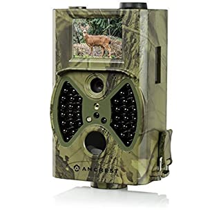 Amcrest ATC-1201 1080P HD Sports Game Capture and Trail Hunting Camera with Integrated 2
