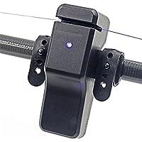 ONEVER Sensible Alta electr¨nica LED Pescados de la luz de Sonido mordida Pesca de la Alarma Indicador de Bell