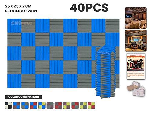 ace-punch-40-paquet-2-combinaison-de-couleurs-bleu-et-gris-flat-wedge-mousse-acoustique-panneau-inso