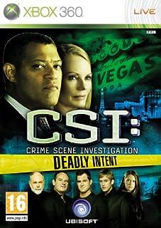 CSI: Crime Scene Investigation - Deadly Intent (Xbox 360) (B002JM22NK) | Amazon Products