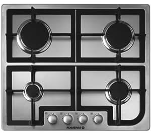 ROSIERES Table de cuisson gaz RTG64SFIN - inox