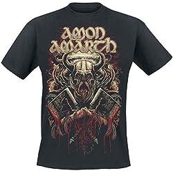 Amon Amarth Viking Camiseta Negro