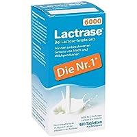 Lactrase 6.000 Fcc Tbl.klickspender Nachfüllpack 480 stk