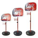 Paniers De Basket, Finer Shop Hauteur 50-147cm Panneau de Basket de Décollage et D'atterrissage en Plastique et Fer pour Enfant/Adulte...