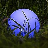 Kugelleuchte, Homever LED-Solar-Kugelleuchte