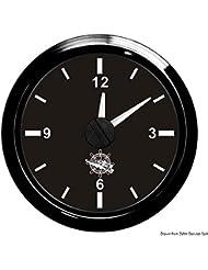Horloge au quartz noir/noir
