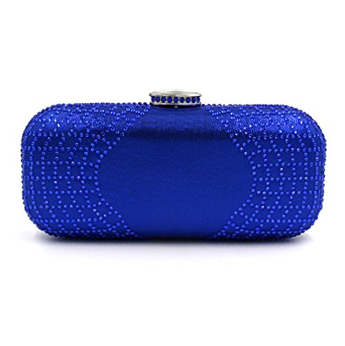 STRAWBERRYER Hot Diamond Dinner Bag Sac De Chaîne En Diamant De Haute Qualité blue