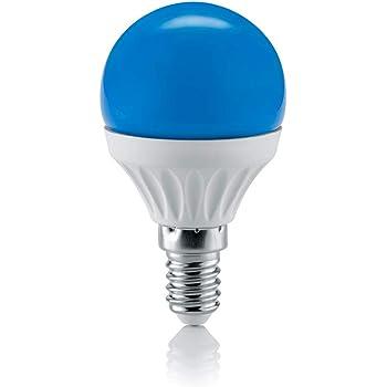 Lampada led colorata blu 4w con attacco e27 equivalente for Lampadina led blu