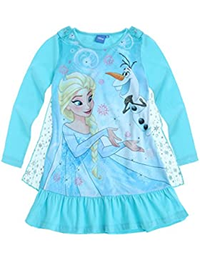 Disney Die Eiskönigin Elsa & Anna Mädchen Nachthemd 2016 Kollektion - blau