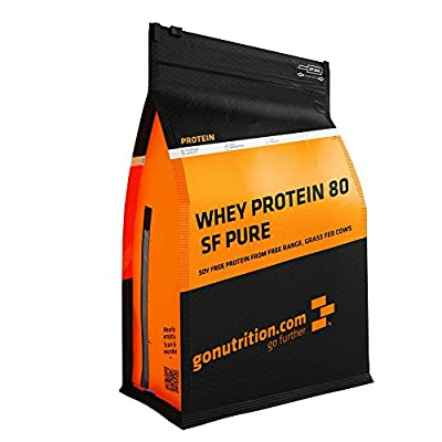 GoNutrition 1 kg Triple Chocolate 80 SF Pure Whey Protein Powder