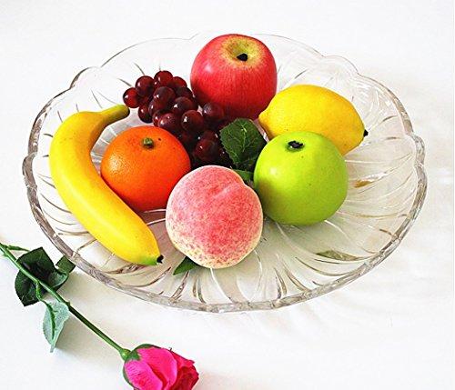 King Jkxgj jking Set von 7 lebensechte künstliche Kunststoff gemischte Früchte Kunststoff Home dekorativer Fruits Tabletop Display