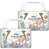 Sweety Fit Pantz Comfort Gold Baby Diapers, New born, (2 X Pack of 30)