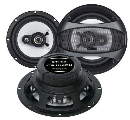 Crunch gTI 62 haut-parleurs 16,5 cm (à partir de 2008, peugeot partner 2 portes à l'avant