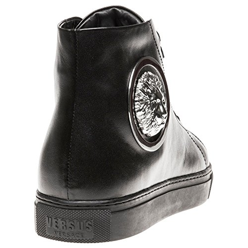 Versus Lion Hi-Top Homme Baskets Mode Noir Noir