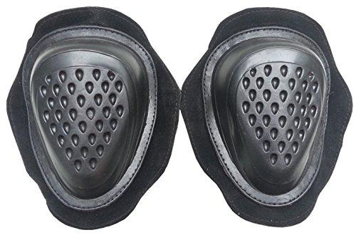 Hochwertige Kunststoff Knieschleifer 1 paar schwarz NEU -Knieschleifen Hang Off (Knieschleifer Dainese)