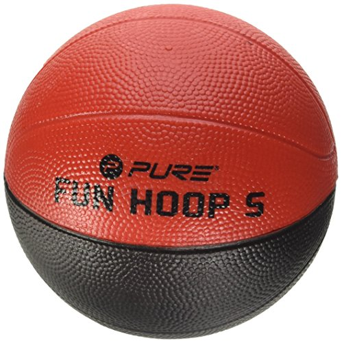 Pure 2Improve Fun Hoop Schaumstoffball 5.0, schwarz/rot, Durchmesser 13,8cm