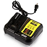 STZ Dewalt DCB112 12-Volt And 20-Volt Max Lithium-Ion Battery Charger Replace DCB101 DCB105 DCB115 - Use For DCB120 DCB127 DCB206 DCB205 DCB201