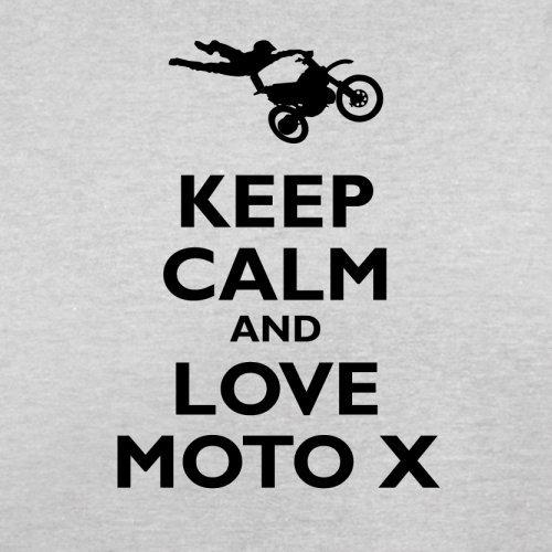Keep Calm and Love Moto X - Herren T-Shirt - 13 Farben Hellgrau ...