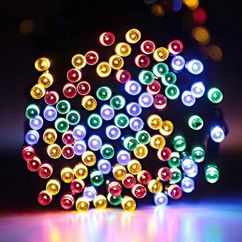 tdoor Solar Powered String Lichter Garden Party Fairy Lamp Fur Outdoor dekorative Lichter, Gartenleuchten, Hochzeit, Halloween, Weihnachten Dekoration ()