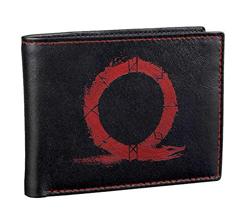 Gaya God of War Wallet Monedero 19 Centimeters (Black/Red)
