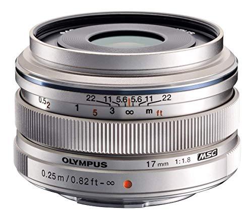 Olympus - Objectif M.ZUIKO DIGITAL  17mm 1:1.8, compatible hybrides Olympus et Panasonic, finition métal