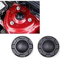 BAAQII 2 stücke Stoßdämpfer-Trim-schutzabdeckung Wasserdichte Staubdicht Kappe für Mazda3 Mazda6 CX-5 CX-3 CX-9