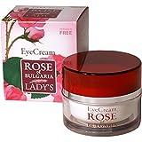 Biofresh Rose of Bulgaria Augencreme Mit Rosenwasser, Makadamia Öl, Vitamin E und Jojobaöl / Eye cream with pure Rose water 25ml