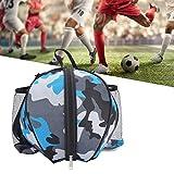 Eurobuy Leichter Sportballrucksack für Basketball, Fußball, Volleyball, Fußballball, mit verstellbarem Schulterriemen, 4 Farben erhältlich
