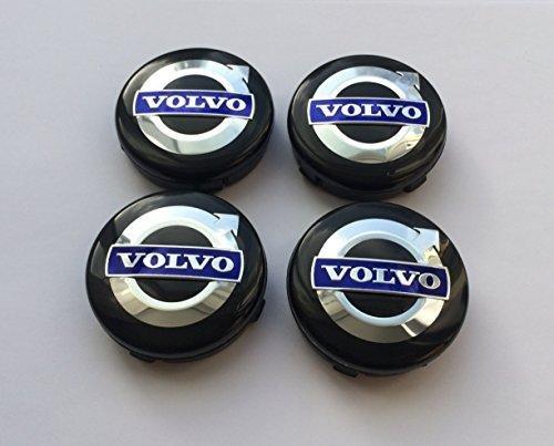set-of-4-wheel-center-caps-volvo-black-blue-logo-64mm-xc-c70-s40-v50-s60-v60-v70-s80