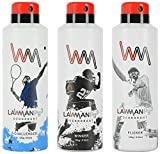 Lawman PG3 Deodorant, 450 ml (Pack of 3)...