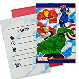 Marvel Procos S.A Avengers Party Einladungen (Pack von 6)