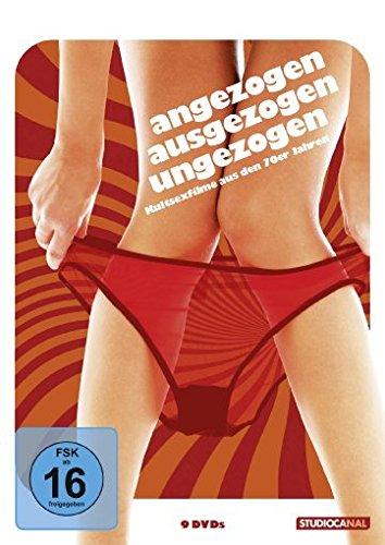 Angezogen, ausgezogen, ungezogen - Kultsexfilme aus den 70er Jahren [9 DVDs]