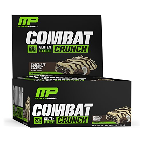 MusclePharm Combat Crunch Bars (12x63g) Chocolate Coconut, 756 g