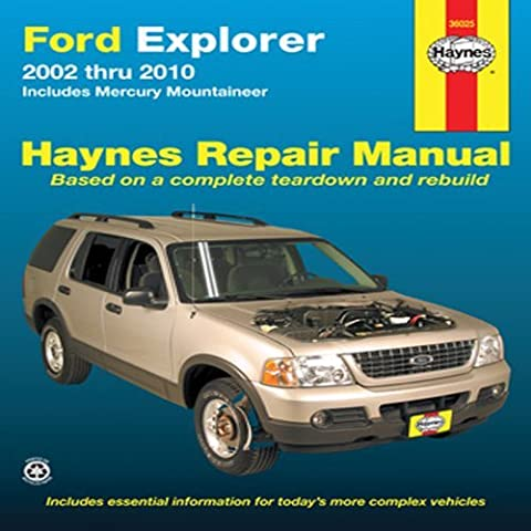 Ford Explorer & Mercury Mountaineer Automotive Repair Manual: 02-10 (Haynes Automotive Repair Manuals) by Robert Maddox (1-Nov-2012) Paperback
