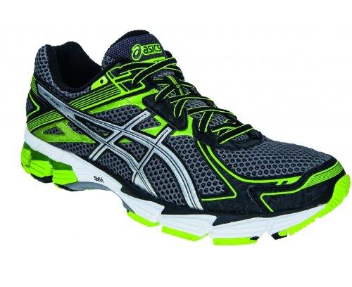 Asics Gt-1000 2, Chaussures de Running Homme Noir (Vert/Argent)