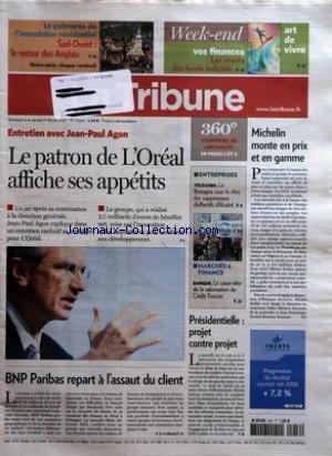 tribune-la-no-3604-du-16-02-2007-entretien-avec-jean-paul-agon-le-patron-de-loreal-affiche-ses-appet