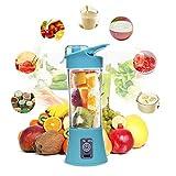 Lorenlli Tamaño compacto USB Recargable Botella Juicer Uso doméstico Viajes Uso Mano Fruta Juicer Máquina Blender Bottle