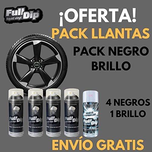 Vinilo Liquido Full Dip - Pack NEGRO BRILLO + REGALO 30 TARJETAS Y DESENGRASANTE