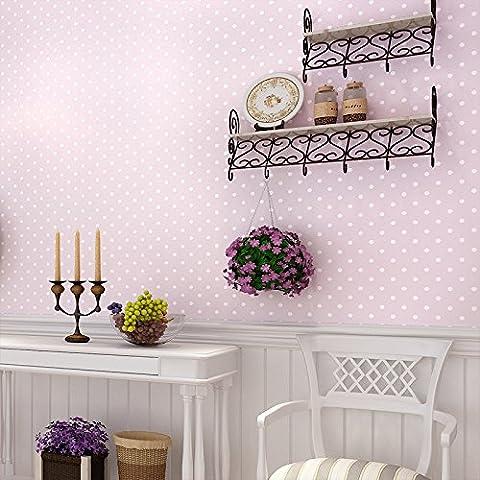 FUMIMID Tessuto non tessuto panno di camere camera da letto moderna soggiorno parete parete a parete carta da semplice piccolo bambini parati ,