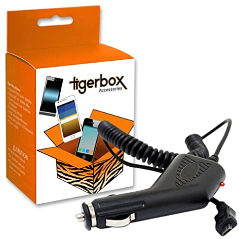 Tigerbox® Micro USB In Car Travel Charger For Doogee Voyager 2 DG310 Mobile Phone