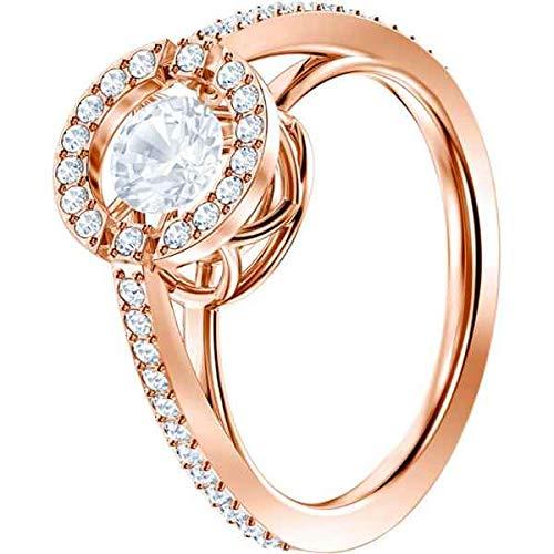 Swarovski Damen-Ringe Edelstahl Kristall '- Ringgröße 52 5482703
