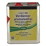 Kluthe Verdünner für aromatenfreie Lacke Lösin 600 Verdünner aromatenfrei 3 Liter