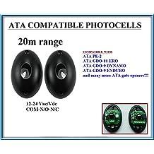 ATA PE2 fotocélulas de infrarrojos compatible. Par de universal fotocélulas infrarrojas Sensores de seguridad Para