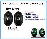 ATA PE2 fotocélulas de infrarrojos compatible. Par de universal fotocélulas infrarrojas Sensores de seguridad Para ATA GDO9 / GDO11 abridores de puerta. Haz de seguridad 12V-24V AC/DC, N.O-COM-N.C , Alcance: hasta 20m!!!