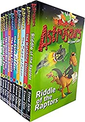 Steve Cole Astrosaurs Series Collection 10 Books Set (Books 1 to 10)