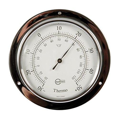 Barigo 883cr Tempo Schiffsthermometer Chrom 110mm